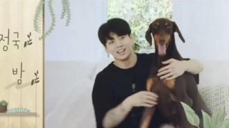防彈少年團開啟第二季真人秀,粉絲發現田柾國養了一隻寵物狗