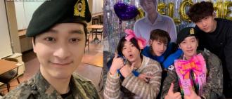 燦盛昨正式退伍 2PM爭1成員未退役
