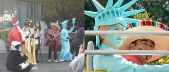 《新西遊記7》最新偶遇照曝光 世界名勝代表大集合圭賢繼續一身藍
