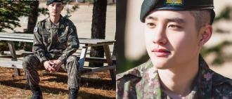 D.O.確定年末休假後退伍 成EXO第二位完成兵役成員
