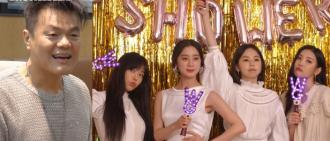 連JYP也到賀!Wonder Girls為惠林再聚首舉行婚前派對