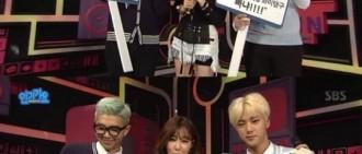 Tiffany回歸也不忘為Sunny在《人氣歌謠》中送生日祝福
