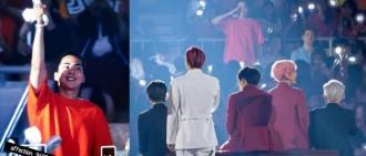 大哥來應援了!Xiumin平頭Look現身EXO首爾演唱會終場