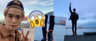 嚇到個心離一離! NCT海邊影到靈異照「鬼手」捉著在玹腳