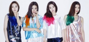 Red Velvet出道曲<幸福(Happiness)>MV將於8月1日公開