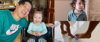 振瑀1歲生日 朴柱昊貼父子踢波片:爸爸隨時Ready!