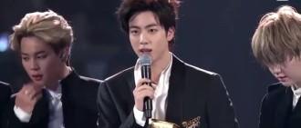 BTS-JIN MAMA得獎感言狙擊音源囤積現象獲網民點讚