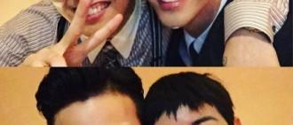 G-Dragon支援'無限商社' 跟光熙完全兄弟臉