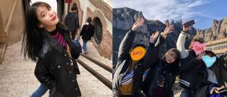 IU遊西班牙曬幸福家庭照 這樣區別對待父母同細佬