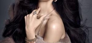 f(x)宋茜女神美貌再升級 露雪白香肩散發高貴氣質
