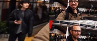 外國YouTuber日本街頭拍片路人好面善 粉絲發現竟然是燦烈?!