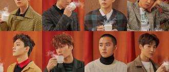 EXO發布冬季特別專輯 《Univers》搶占各大音源榜