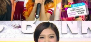 "SM新女團Red Velvet""音樂銀行""開始前採訪""感謝圭賢"",成員們在彩排現場,節目中採訪都稍顯緊張"
