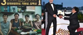 《上流寄生族》角逐金球獎3大獎項 韓語片首次入圍