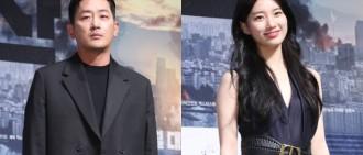 新電影《白頭山》中飾演夫妻 河正宇抱怨與秀智太少對手戲