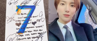 利特IG大曬BTS簽名專 展現溫暖友誼粉絲好羨慕