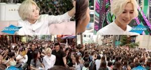 泰民-金藝媛江南街頭約會 擔心粉絲圍觀受傷