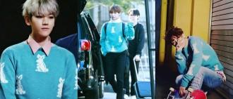 同一件衣服誰穿得更好看: EXO Baekhyun, BTS V and iKON Bobby