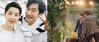 宋仲基、李光洙驚喜現身朋友婚禮 帥氣模樣惹關注