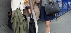韓國街頭直擊 —— 韓國女生衣著穿搭!