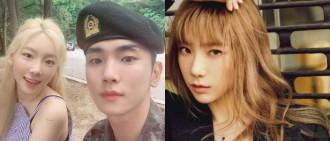 KEY分享軍隊探班合照賀太妍改版專輯發表