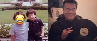 JYP童年舊照曝光 網民感嘆:完全無變!