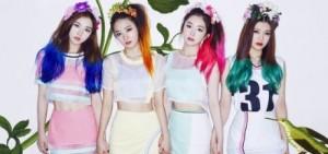 Red Velvet出道僅2週就登上人氣歌謠1位候補