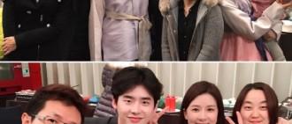 李鍾碩李寶英出席尹相鉉之女周歲宴 《聽你聲》久違同框親密依舊