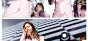 少女時代北京粉絲見面會現場公開,變身性感的粉色女郎