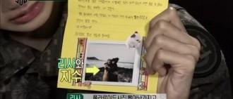 LISA《真正的男人300》淚崩,因為來自隊友的一封信?