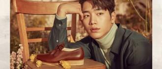 徐康俊代言鞋履品牌 宣傳寫真出爐