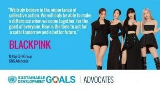 BLACKPINK被任命為UN可持續發展目標宣傳大使