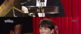 「2017 SBS演技大賞」池晟得大獎 獲獎感言引好評