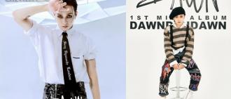 DAWN時隔11個月推出新曲 泫雅IG為男友打氣