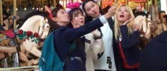 """先是程瀟的""""鐵劉海"""",然後是她的懸空照,這節目照片很奇特!"""