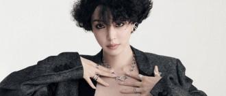 韓藝瑟最新宣傳照曝光 低胸上衣配西裝利落又性感